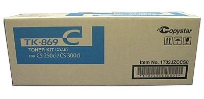 Kyocera KYOTK869C Cyan Toner Cartridge