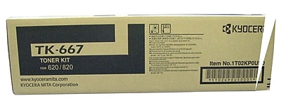Kyocera KYOTK667 Black Toner Cartridge