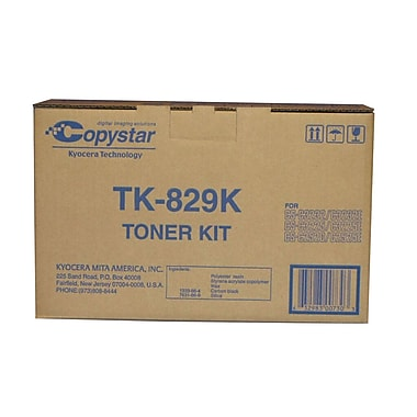 Kyocera TK829K Black Toner Cartridge
