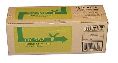 Kyocera KYOTK582Y Yellow Toner Cartridge