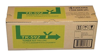 Kyocera TK592Y Yellow Toner Cartridge (KYOTK592Y)