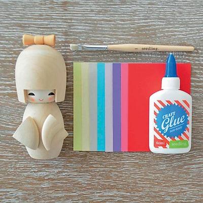 Seedling Glue Me Kokeshi Doll