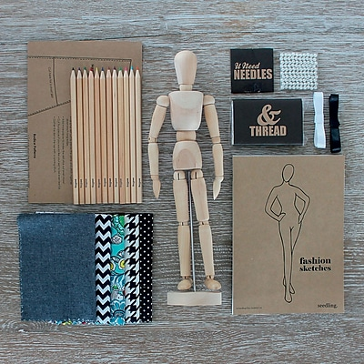 Seedling Fashion Designers Kit: Inspired by Audrey