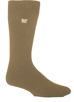Drew Brady Men's Heat Holders Original Crew Length Thermal Socks - Stonewash