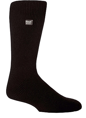 Drew Brady Men's Heat Holders Original Crew Length Thermal Socks - Black