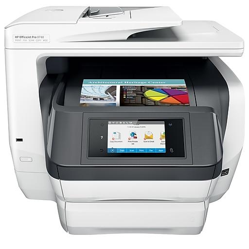 HP OfficeJet Pro 8740 Color Inkjet All-In-One Printer (K7S42A)