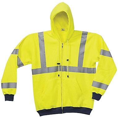 Occunomix International LLC Yellow Wicking Hoodie Sweat-Shirt, XXXL