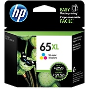 HP 65XL Tri-Color High Yield Ink Cartridge (N9K03AN#140)