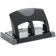 Swingline® SmartTouch™ 74136 3-Hole Punch, 45 Sheets, Black/Gray (A7074136)