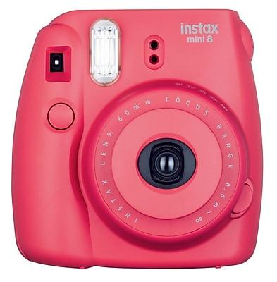 FUJIFILM Instax Mini 8 Camera, Raspberry
