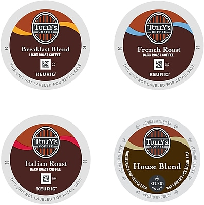 Keurig K-Cup Tully's Coffee House Collection, Regular, 22/Pack 369299