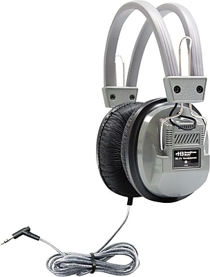 Hamilton Sc-7v Deluxe Heavy Duty Stereo Headphone With 1/8 In Jack; 3.5 Mm Plug - 1415506 - Audio Av Technology Equipment Electronics Headphones Earbuds Headsets 1415506