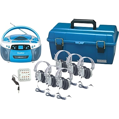 Hamilton Buhl USB, MP3, CD, Cassette and AM/FM Radio Boom Box