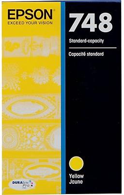 Epson T748 DuraBrite Pro Yellow Ink Cartridge (T748420)