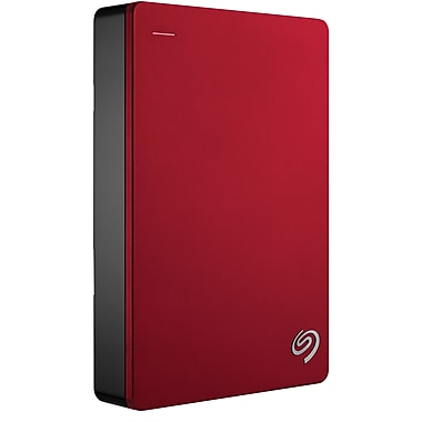 Seagate Backup Plus Portable Hard Drive 4TB, Red