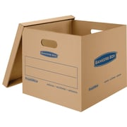 Bankers Box SmoothMove Classic Moving Boxes, Medium, 8 Pack (7717201)