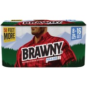 Brawny® Paper Towels 8 XL Rolls Pick-A-Size 2-ply 140 Sheets/Roll