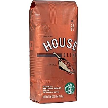 Starbucks House Blend Ground Coffee, 1 lb. Bag