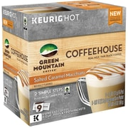 Green Mountain Coffee Coffeehouse Salted Caramel Macchiato K-Cup Pods, 9 Count