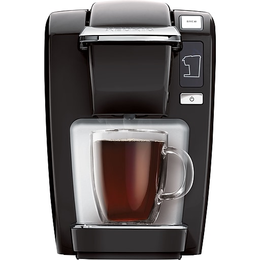 Keurig K15 Coffee Maker Black Staples