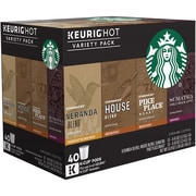 Starbucks Variety Pack K-Cup Pods, 40 Count