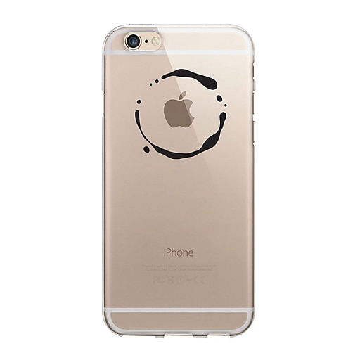 Centon OTM Classic Prints Case for iPhone 5/5S, Clear/Water Ring (IP5V1CLR-ICN05)