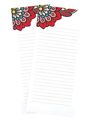 Erin Condren List Pad, Paisley, 25 Lined Sheets, 4
