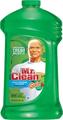 Mr. Clean Multi-Purpose Cleaner, Original Fresh with Gain Scent, 40 oz.
