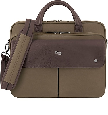 SOLO® Executive Briefcase, Polyester, 15 1/2