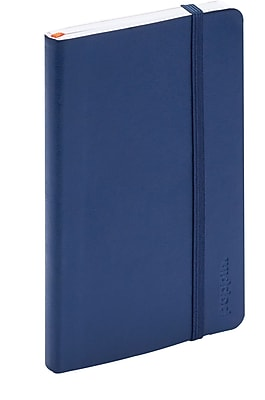 Poppin Navy Small Softcover Notebooks, Set of 25 (101730_
