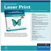 "International Paper Laser Print Paper, 8.5"" x 11"", 28 lbs., 4000 Sheets/Carton (12553-4)"