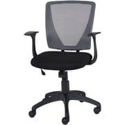 Staples - Chaise fonctionnelle Vexa à dossier en mailles, gris (29568R-CA)