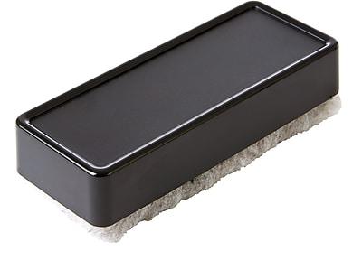 Staples® Plush Eraser, for Whiteboards and Chalkboards, Black