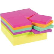 "Post-it® Original Notes, 3"" x 3"", Canary Yellow and Cape Town Collection, 36/Pack"