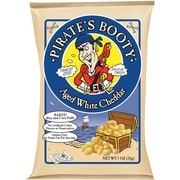 Pirate s Booty Aged White Cheddar 1 Oz., 24/Pack