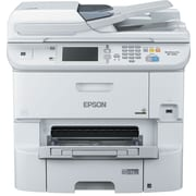 Epson WorkForce Pro WF-6590 Inkjet Multifunction Printer, Color, Plain Paper Print, Desktop (C11CD49201-NA)