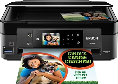 Epson Expression Home XP-430 Small-in-One Inkjet Printer (C11CE59201)