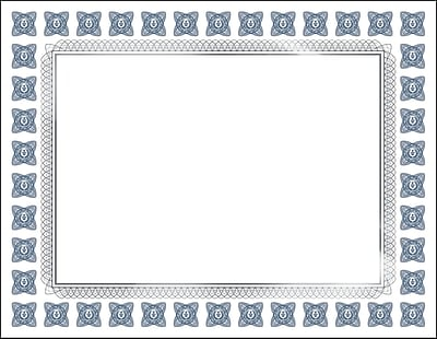 """Great Papers! Silver Scholar Premium Certificate, 8.5"""" x 11"""", 15 count (2015074)"""