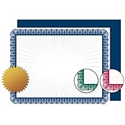 """Great Papers! Variety Value Certificate, Seals, and Covers Kit, 8.5"""" x 11"""", 90/Pack (2015094KIT)"""