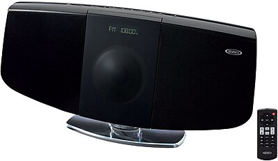 Wall Mountable Bluetooth (NFC) Music System with CD