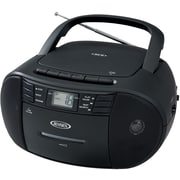 Portable Stereo CD Player with Radio and Cassette Player