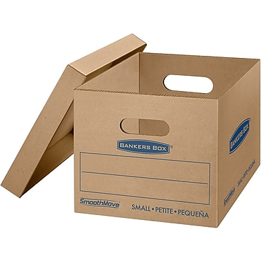 Bankers Box® SmoothMove Classic Moving Box, Small, 15