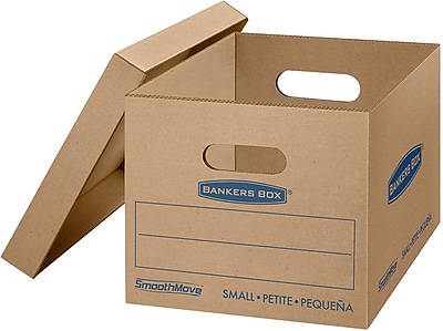 Bankers Box® SmoothMove Classic Moving Boxes, Small, 15