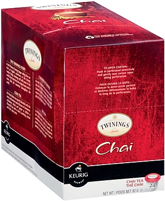 Twinings Chai Tea K-Cup Pods, 24/BX