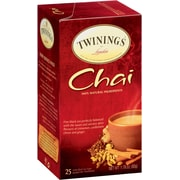 Twinings® Chai Tea Bags, 1.76oz., 25/Box