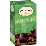 Twinings Green Tea Bags, 25/BX