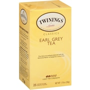 Twinings Earl Grey Tea Bags, 25/BX