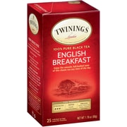Twinings English Breakfast Tea Bags, 25/BX