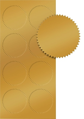 Great Papers® Gold Foil Seal, 50/pack