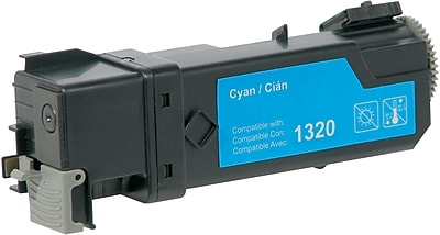West Point Products Compatible Color Laser Toner Cartridge, Dell 1320, Cyan, High Yield